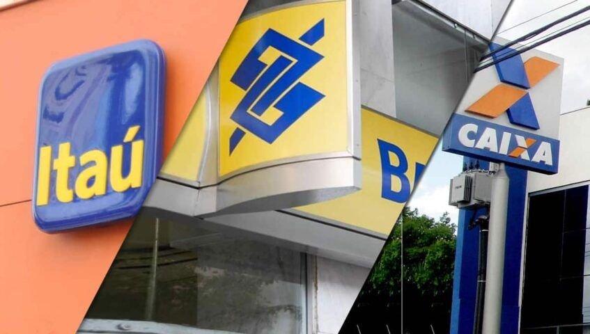 Bancos Itaú, BB e Caixa anunciam redução nas taxas de juros